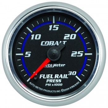 auto meter fuel rail pressure 0 30k psi cobalt series